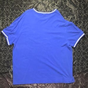 Polo Ralph Lauren Mens Blue Large Tee Solid Blue